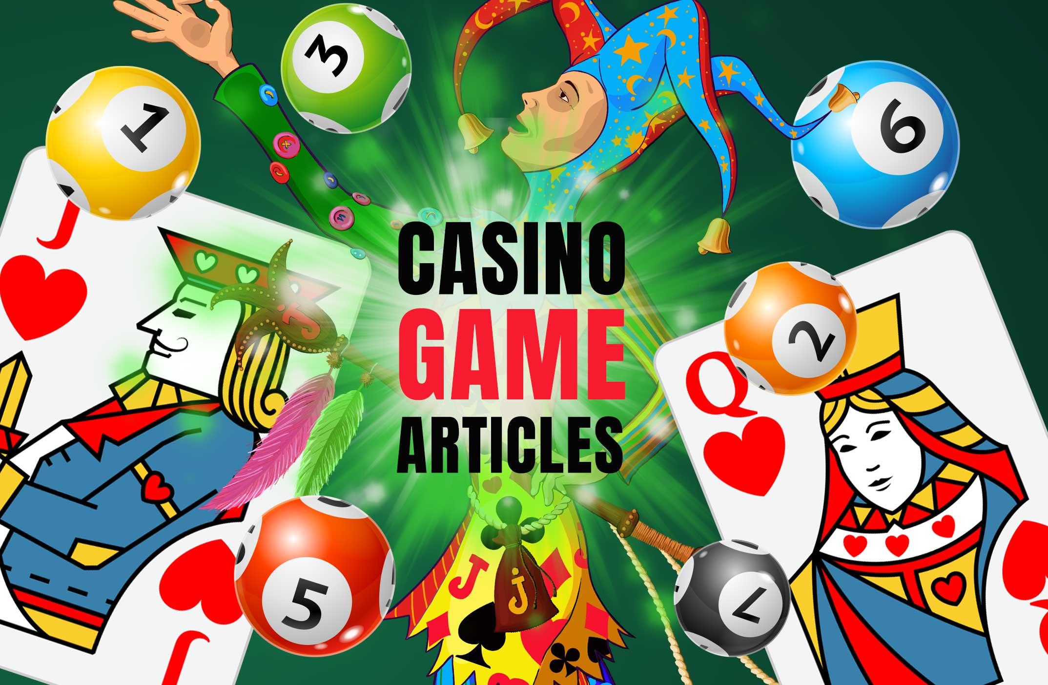 Casino Game Articles - Online Casino Canada, Bonuses, Real Money