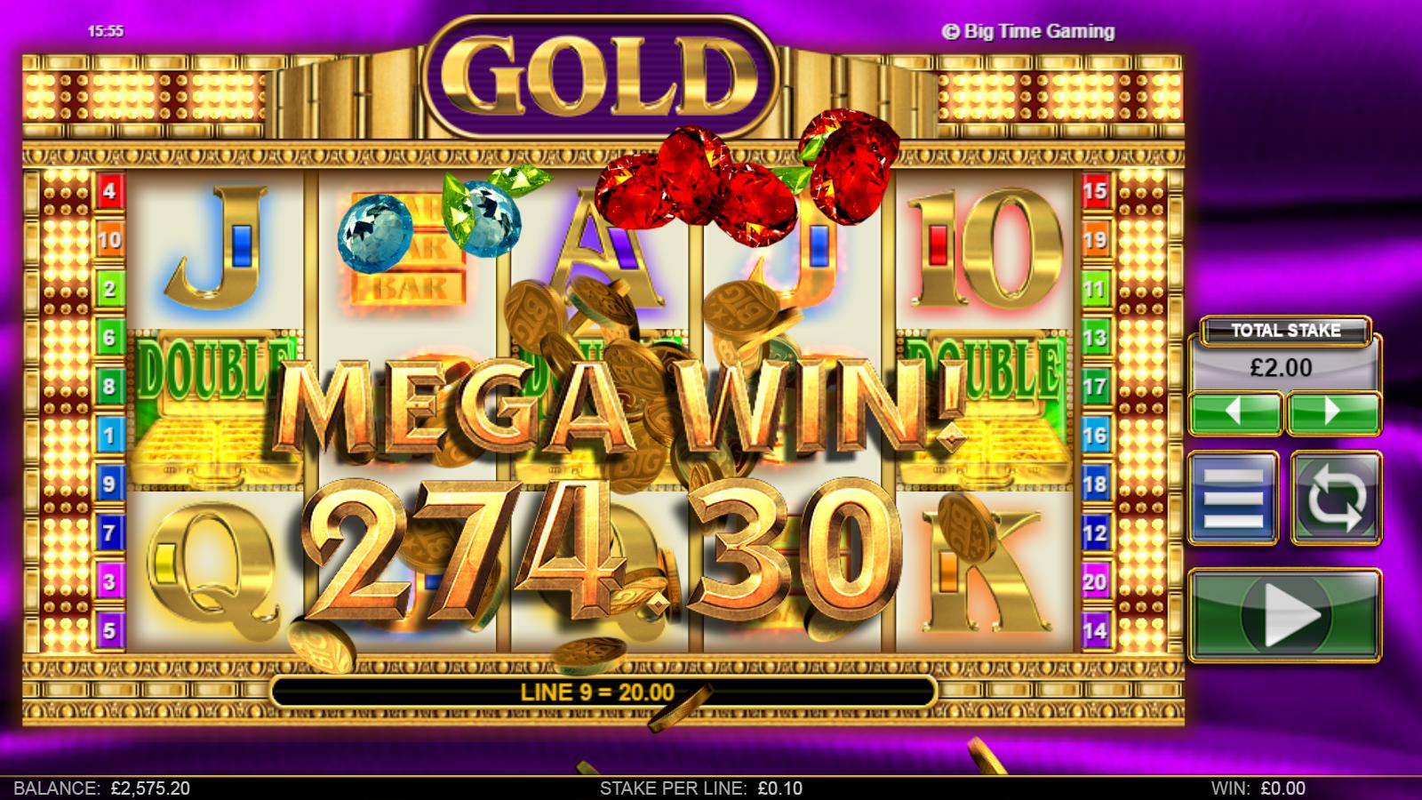 Big Time Gaming Casino Game Provider