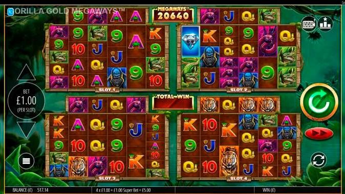 Blueprint gaming casino games slots