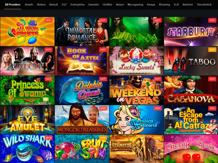 Golden Star Casino Games