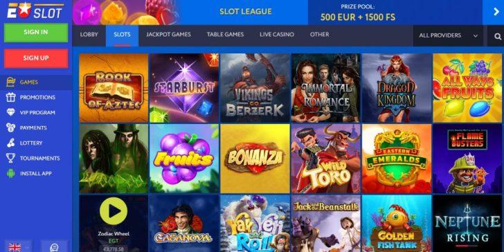 EUslot Casino Games