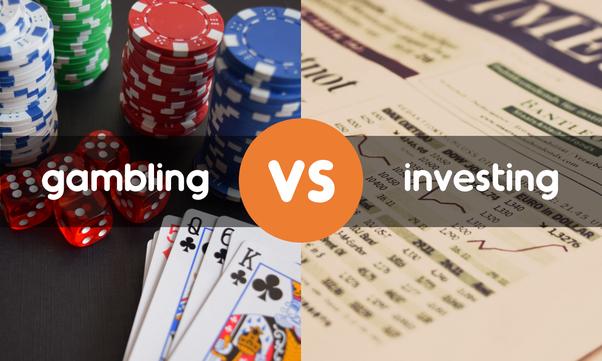 investing vs gambling